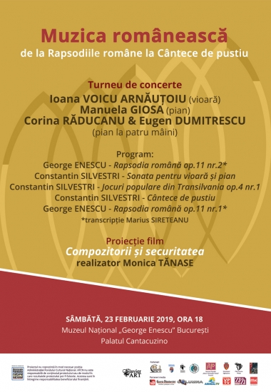 Muzica românească - De la Rapsodiile române la Cântece de pustiu