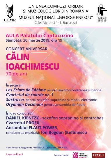 Concert aniversar CĂLIN IOACHIMESCU