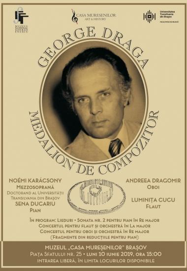 Medalion de compozitor George Draga