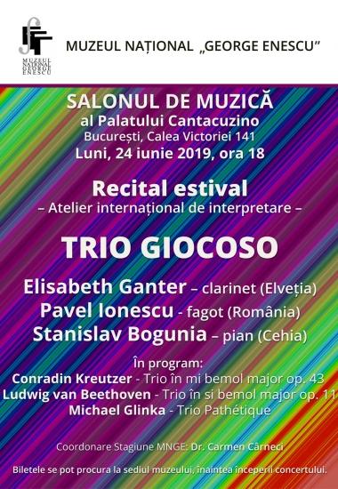 Recital estival / Atelier internațional de interpretare