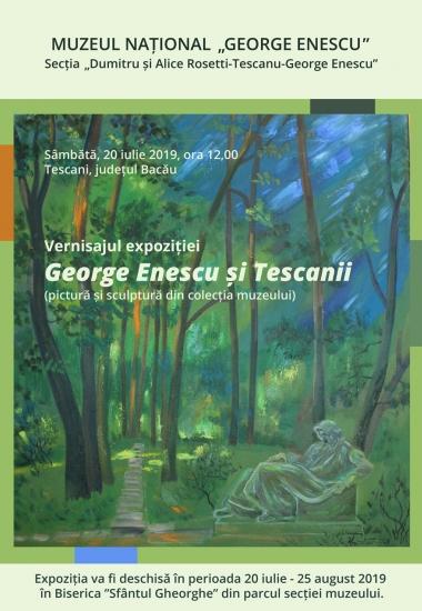 """Vernisajul expoziției """"George Enescu și Tescanii"""""""