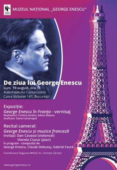 De ziua lui George Enescu