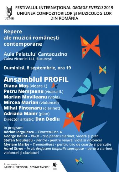 Repere ale muzicii românești contemporane / Ansamblul PROFIL