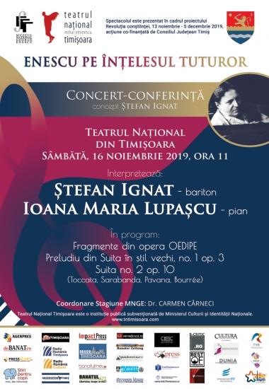 Enescu pe înțelesul tuturor / Timișoara