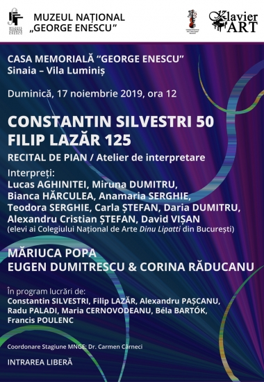 CONSTANTIN SILVESTRI 50 / FILIP LAZĂR 125