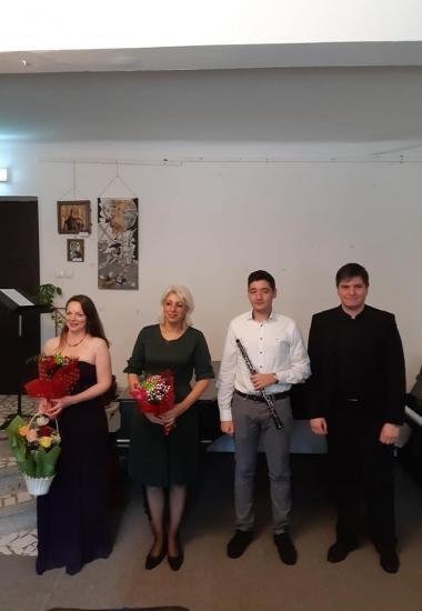 Imagini de la concertul de lieduri românești & scoțiene și muzică de cameră de la Sinaia, 16 noiembrie 2019