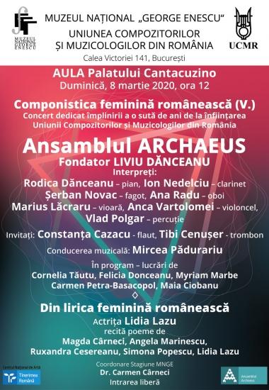 Componistica feminină românească (V.)