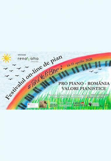 Festivalul on-line de pian #TotulVaFiBine