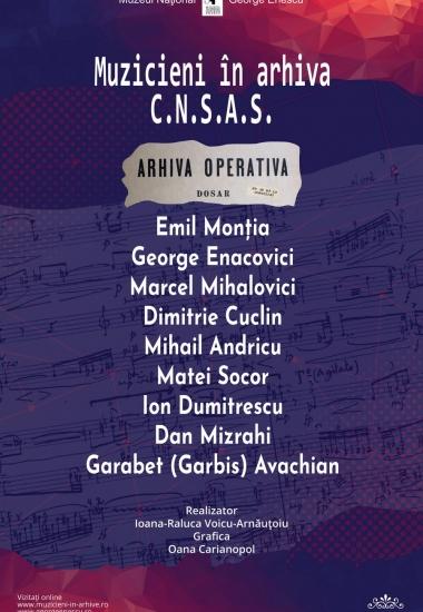 Expoziția Muzicieni în arhiva C.N.S.A.S. III