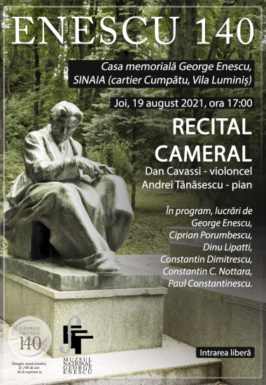 Recital Cameral – George Enescu, 140 de ani de la naștere