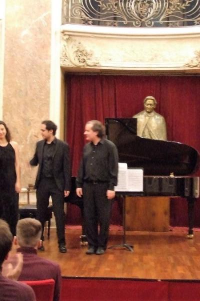 Imagini de la recitalul excepţional - Josu de Solaun, 12 decembrie 2016