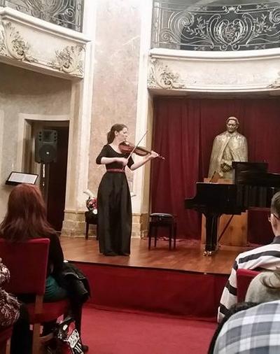 """Imagini de la evenimentul """"Omagiu lui George Enescu"""" din 19 decembrie 2016"""