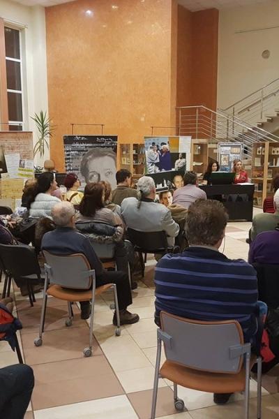 """Imagini de la evenimentul """"Oedipe pe înțelesul tuturo"""" din 23 ianuarie 2017 de la Oradea"""