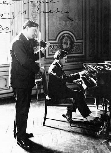 115 ani de la prima audiţie a Sonatei I pentru vioară şi pian, op. 2, de George Enescu, 17 februarie 1898