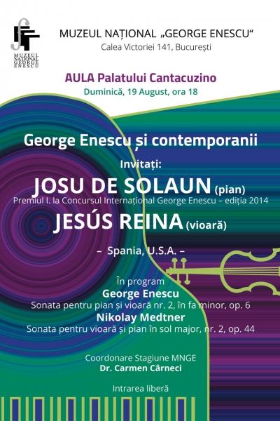 George Enescu și contemporanii