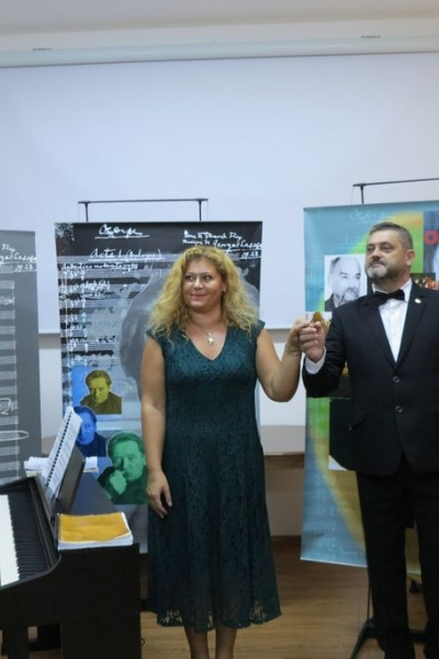 Imagini de la evenimentul ENESCU pe înțelesul tuturor de la Şimleu Silvaniei din 7 octombrie 2018
