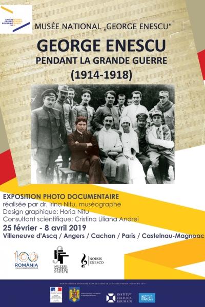 """""""George Enescu în vremea marelui război (1914-1918)"""""""