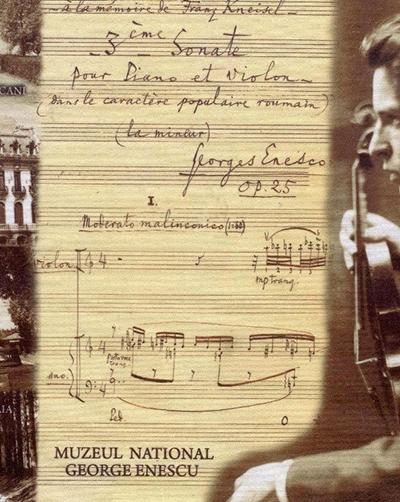 64 de ani de la moartea lui George Enescu