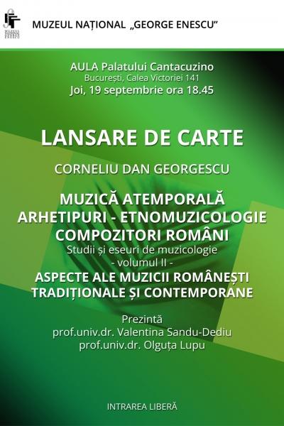 LANSARE DE CARTE - Corneliu Dan Georgescu