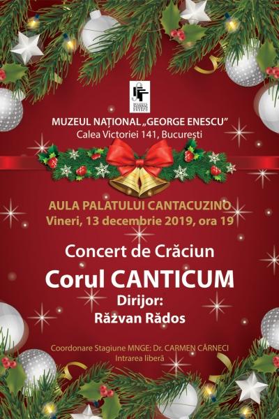Concert de Crăciun - Corul Canticum