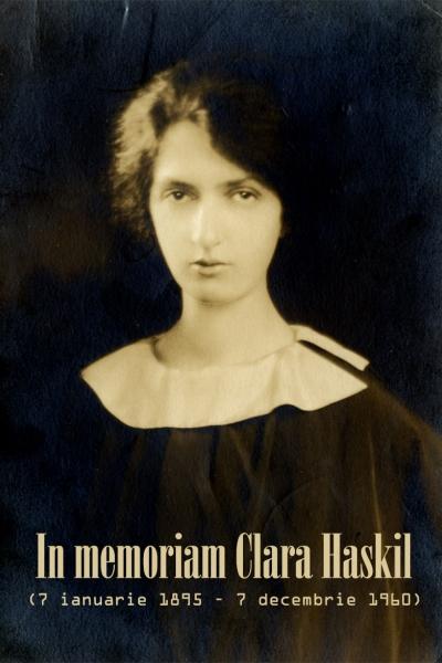 In memoriam Clara Haskil (7 ianuarie 1895 – 7 decembrie 1960)