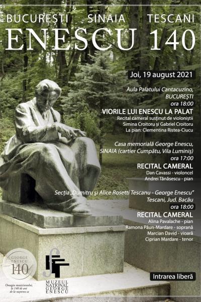George Enescu 140