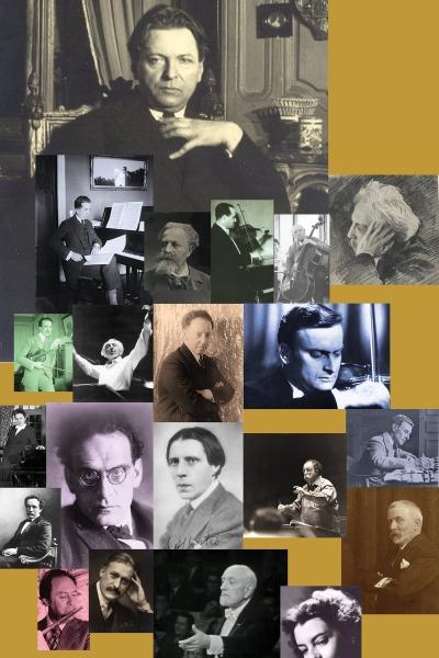 GEORGE ENESCU şi partenerii săi străini