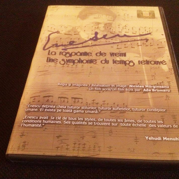 DVD - Enescu la raspântie de vremi