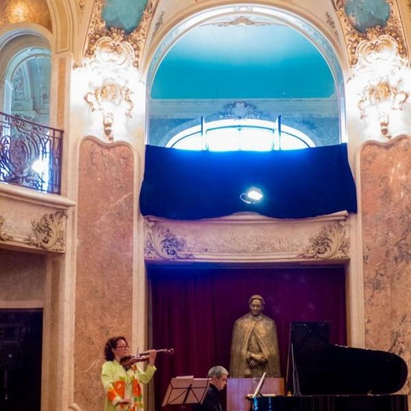 """Imagini de la evenimentul """"Portret George Enescu"""", 10 septembrie 2017, Bucureşti"""