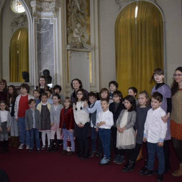 "Imagini de la ""Mozartinno la Palat"", 26 noiembrie 2017"
