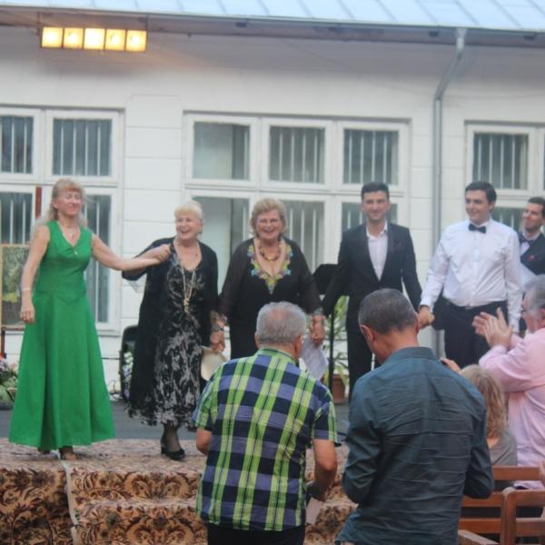 Imagini de la concertul Dialogul Artelor din 26 august de la Tescani