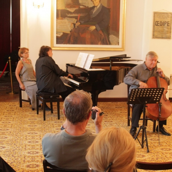 """FESTIVALUL INTERNATIONAL """"ENESCU - ORFEU MOLDAV"""", RECITAL CAMERAL, DAN CAVASSI - violoncel si SORIN DOGARIU - pian, 2 sptembrie 2018, Tescani"""