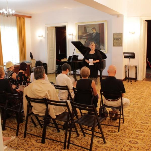 Imagini de la recitalul cameral susținut de Josu de Solaun la Tescani, 29 august 2019