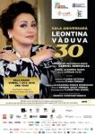 """Al doilea eveniment din seria evenimentelor aniversare """"LEONTINA VĂDUVA 30"""": GALA ANIVERSARĂ """"LEONTINA VĂDUVA 30"""""""
