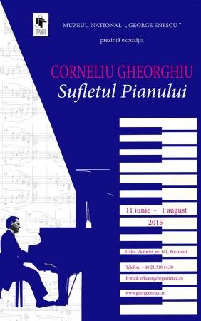 """Expozitia """"Corneliu Gheorghiu - Sufletului Pianului"""""""