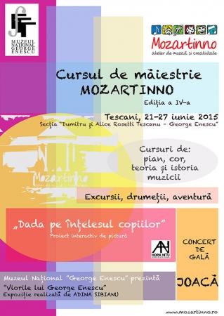 Cursul de măiestrie Mozartinno® – pian şi aventură