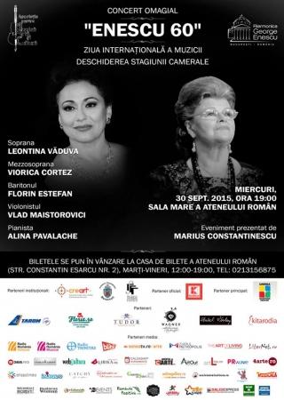 """Concert Omagial """"Enescu 60"""""""