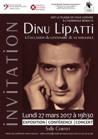 """Expoziția """"Dinu Lipatti 100"""""""
