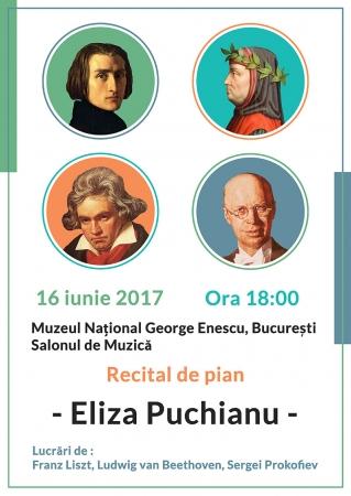 Recital de pian Eliza Puchianu