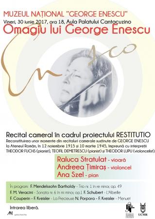 Omagiu lui George Enescu