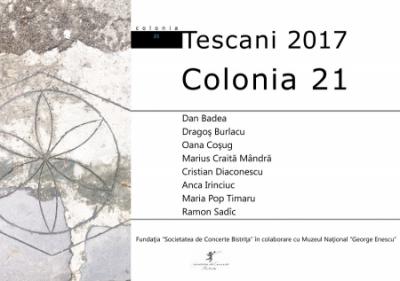 Vernisajul expozitiei Colonia 21