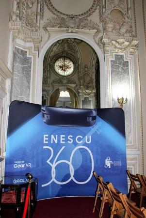 """Expoziția digitală """"Enescu 360"""""""