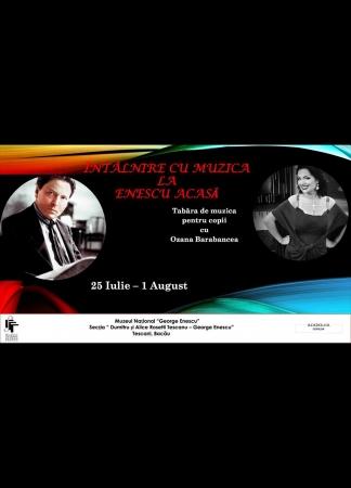Întâlnire cu muzica la Enescu acasă