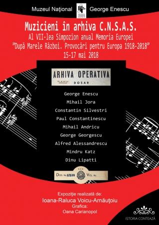 Muzicieni în arhivele C.N.S.A.S.