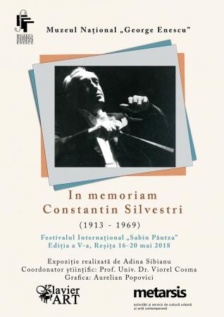 "In memoriam ""Constantin Silvestri"", Reșița"