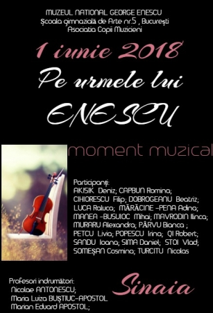 Pe urmele lui Enescu