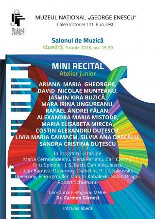 Mini recital - Atelier junior