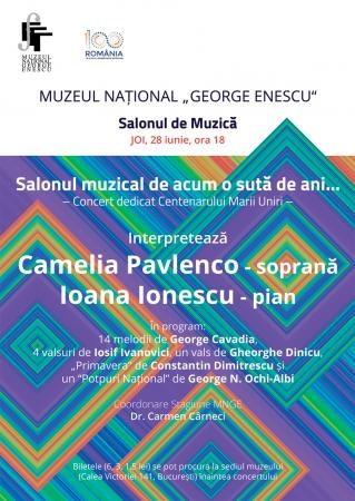 Concert dedicat Centenarului Unirii
