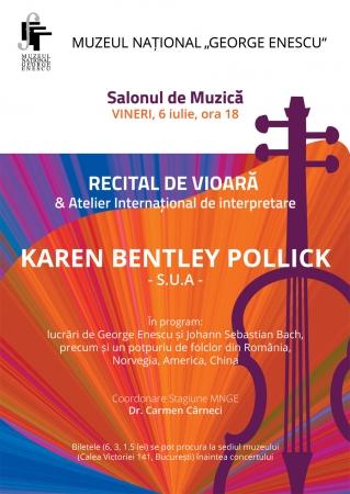 Recital Karen Bentley Pollick