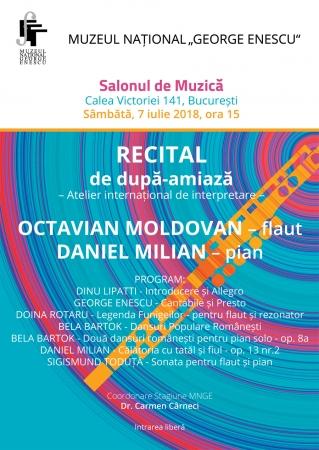 Recital Octavian Moldan și Daniel Milian